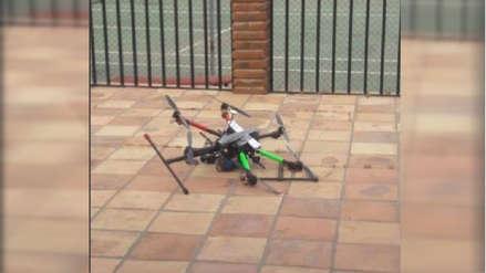 México: Policía Interceptó dron con granadas cuando sobrevolaba casa de funcionario