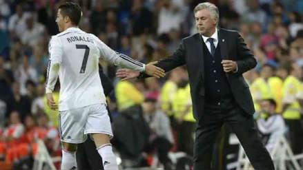 Carlo Ancelotti se refirió al fichaje de Cristiano Ronaldo por Juventus