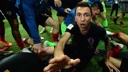 El relato del fotógrafo aplastado en la celebración del segundo gol croata