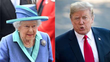 Donald Trump tomará el té con la reina Isabel II tras presenciar un desfile militar