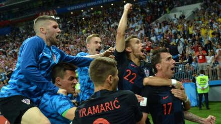 El gol de Mario Mandzukic que le dio a Croacia el pase a la final de Rusia 2018