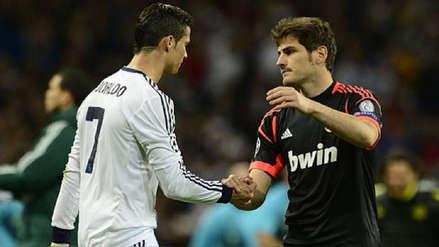 Iker Casillas a Cristiano Ronaldo: