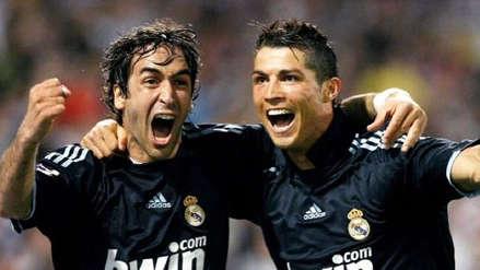 Raúl se despide con mucha tristeza de Cristiano Ronaldo