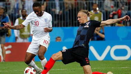 La particularidad que comparten Inglaterra y Croacia tras los 90' de las semifinales de Rusia 2018