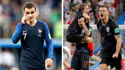Francia vs. Croacia: La influencia de Griezmann en los goles franceses frente al poderío croata en ataque