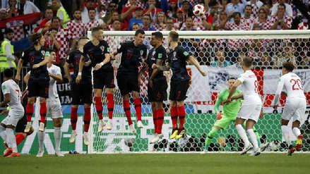 El récord que igualó Inglaterra con el gol de Kieran Trippier ante Croacia