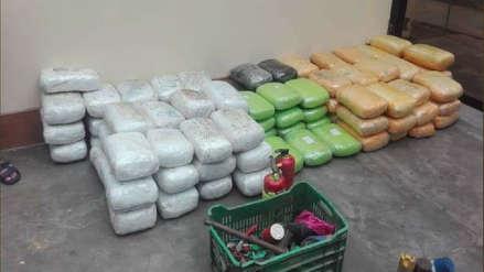 Detienen a cinco hombres con más de 240 kilos de droga en Laredo