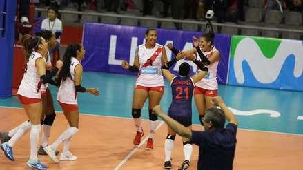 Selección Peruana de Vóley logró su segunda victoria en la Copa Panamericana