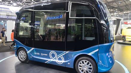 China empezó la producción masiva de buses autónomos