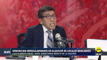 El presidente del Banco de la Nación cuestiona ley sobre publicidad estatal