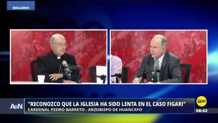 "Pedro Barreto reconoció que la Iglesia ""ha sido lenta"" en el caso Figari"