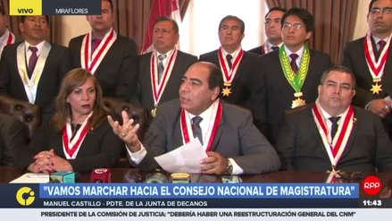 Caso CNM: Colegios de Abogados del Perú piden una rápida investigación y una drástica sanción