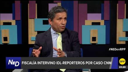 Rivera no cree que accidentada diligencia a IDL Reporteros haya sido un error de la fiscalía