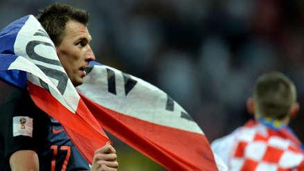 Mario Mandzukic anotó el gol más importante en la historia de Croacia