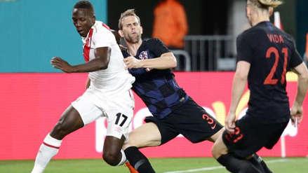 Croacia pasó de perder con Perú en un amistoso a ser finalista de Rusia 2018