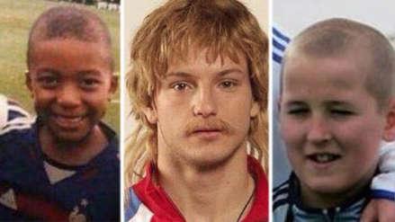 Así lucían las estrellas de las semifinales de Rusia 2018 cuando eran jóvenes