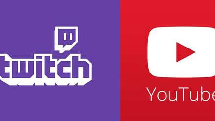Youtube bloquea cuentas que promuevan streams de Twitch