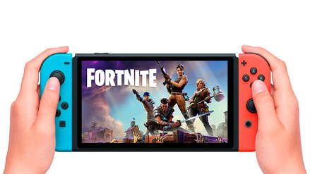 Fornite ya te permite usar los sensores de movimiento de la Nintendo Switch