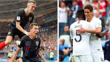 Los 5 datos a saber antes del Francia vs. Croacia por la final de Rusia 2018