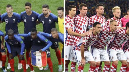 Francia vs  Croacia: se confirmó el color de camisetas que usarán en la final de Rusia 2018