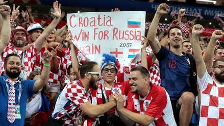 """Federación croata a sus hinchas: """"Buenos días, no estabas soñando"""""""