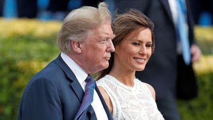 Trump inicia su primera visita oficial al Reino Unido en medio de tensiones
