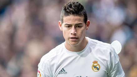 Medio español afirma que James Rodríguez quiere volver al Real Madrid la próxima temporada
