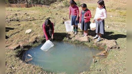Denuncian que niños de Condormarca beben agua contaminada