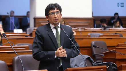 Miembro de la Comisión de Justicia denuncia que congresistas quieren