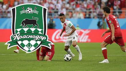 Conoce más del Krasnodar, el nuevo club de Christian Cueva