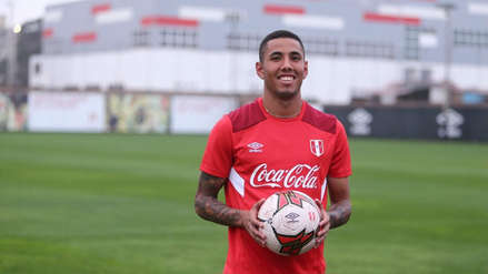 Selección Peruana felicitó a Sergio Peña por su llegada al Tondela