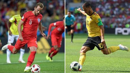 Inglaterra vs. Bélgica EN VIVO ONLINE: hora, canales del partido y minuto a minuto