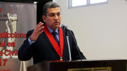 Audios revelan que Walter Ríos coordinó reunión con funcionario del Minjus para ver