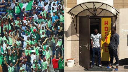 El drama de los hinchas nigerianos que viajaron a Rusia y acabaron estafados y sin dinero