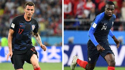 Francia vs. Croacia EN VIVO EN DIRECTO ONLINE: Canales, goles y minuto a minuto