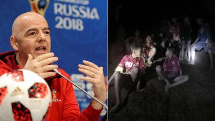 FIFA invita a los niños rescatados de cueva en Tailandia a la entrega del premio 'The Best'