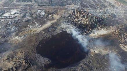 Varios detenidos por la explosión en planta química con 19 muertos en China