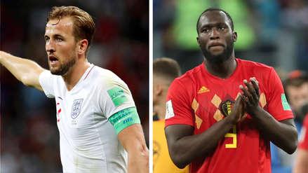 Inglaterra vs Bélgica | Kane y Lukaku: duelo por la bota de oro de Rusia 2018