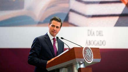 Peña Nieto pidió a Estados Unidos la
