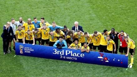 Inglaterra vs. Bélgica EN VIVO: horario, fecha y canal del partido por el tercer puesto