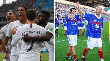 El equipo de la Selección de Francia que conquistó el Mundial de 1998