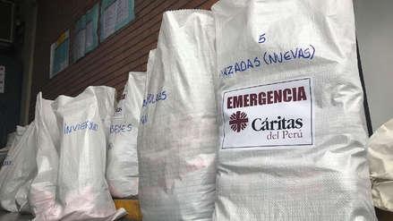 RPP y Cáritas continúan campaña de donación para llevar ayuda al sur del país por las bajas temperaturas