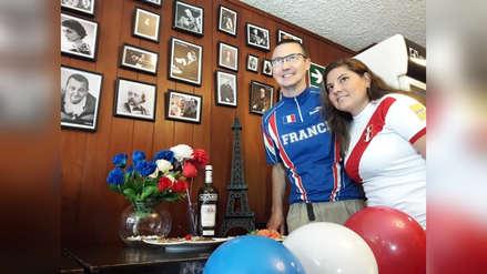 Francés en Trujillo anhela triunfo de su país este domingo