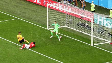 La gran jugada colectiva de Bélgica que terminó en su primer gol ante Inglaterra