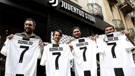 Juventus recaudó 52 millones de euros con la venta de camisetas de Cristiano Ronaldo