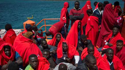 España rescató a más de 300 inmigrantes en el mar Mediterráneo: uno de ellos flotaba en una llanta