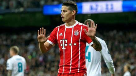 Bayern Munich no le cerraría la puerta a James Rodríguez para que vuelva al Real Madrid