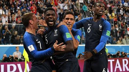 ¡De no creer! Francia ya está celebrando el título del Mundial Rusia 2018