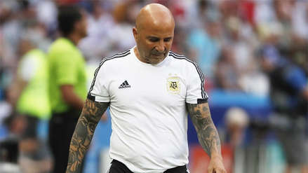 Jorge Sampaoli dejó de ser entrenador de la Selección de Argentina
