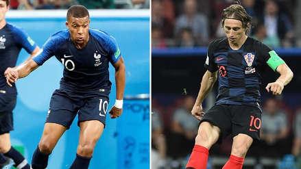 Kylian Mbappé vs. Luka Modrić, el duelo de figuras que verá la final de Rusia 2018
